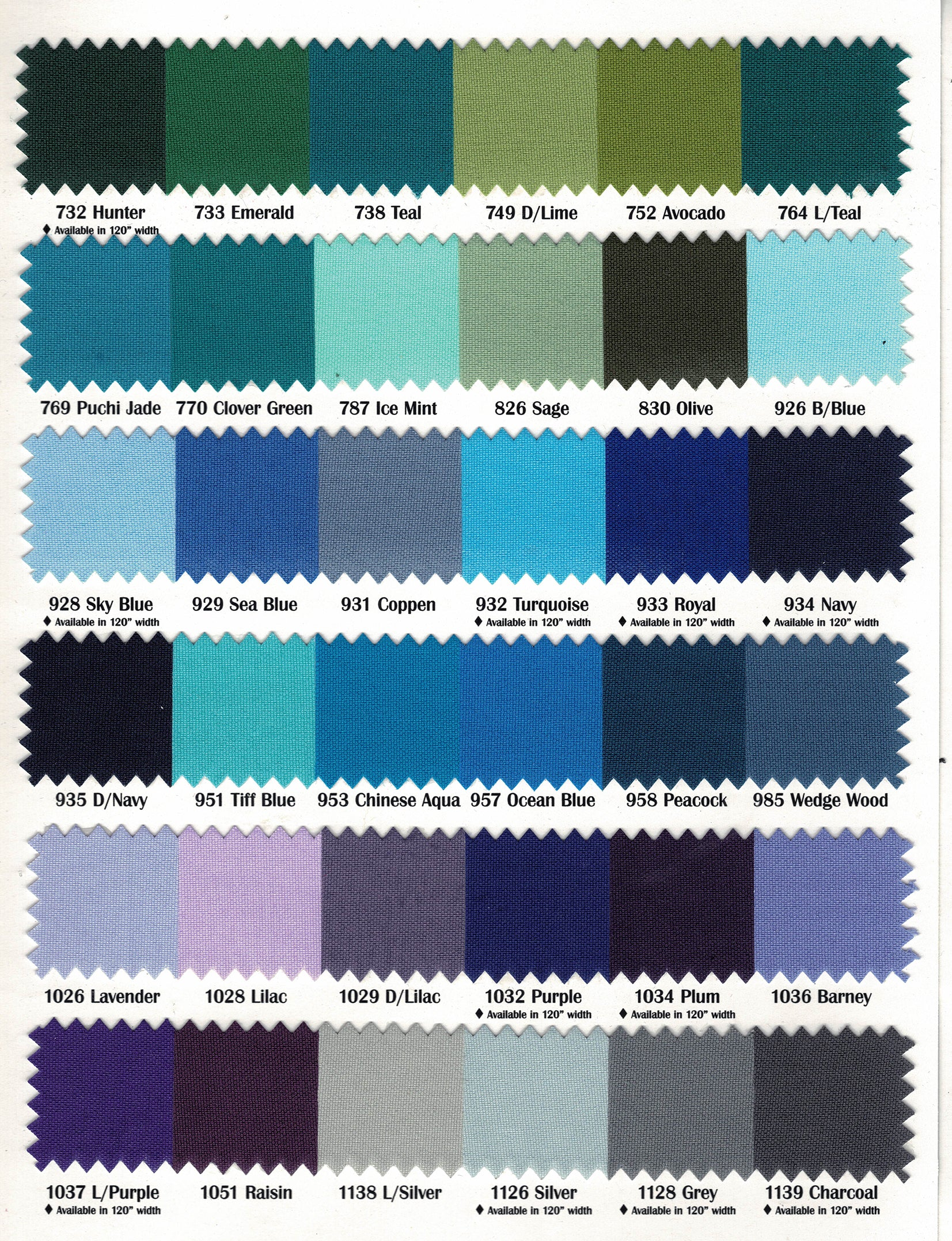 "60"" Wide Polyester Fabric Sample Swatches 