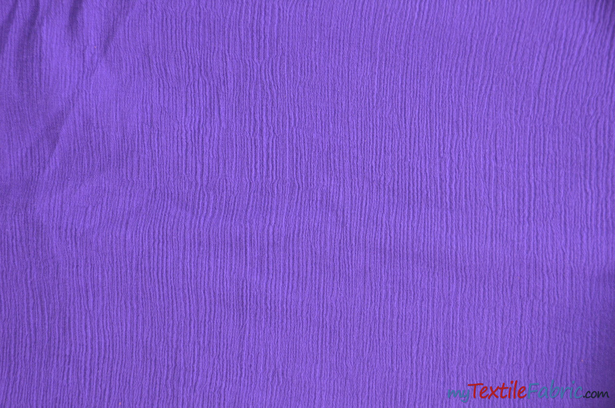 "100% Cotton Gauze Fabric | Soft Lightweight Cotton Muslin | 48"" Wide 