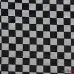 "Load image into Gallery viewer, 1"" Checker Satin Print Fabric 
