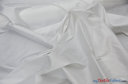 Polyester Silk Fabric | Faux Silk | Polyester Dupioni Fabric | Continuous Yards | 54