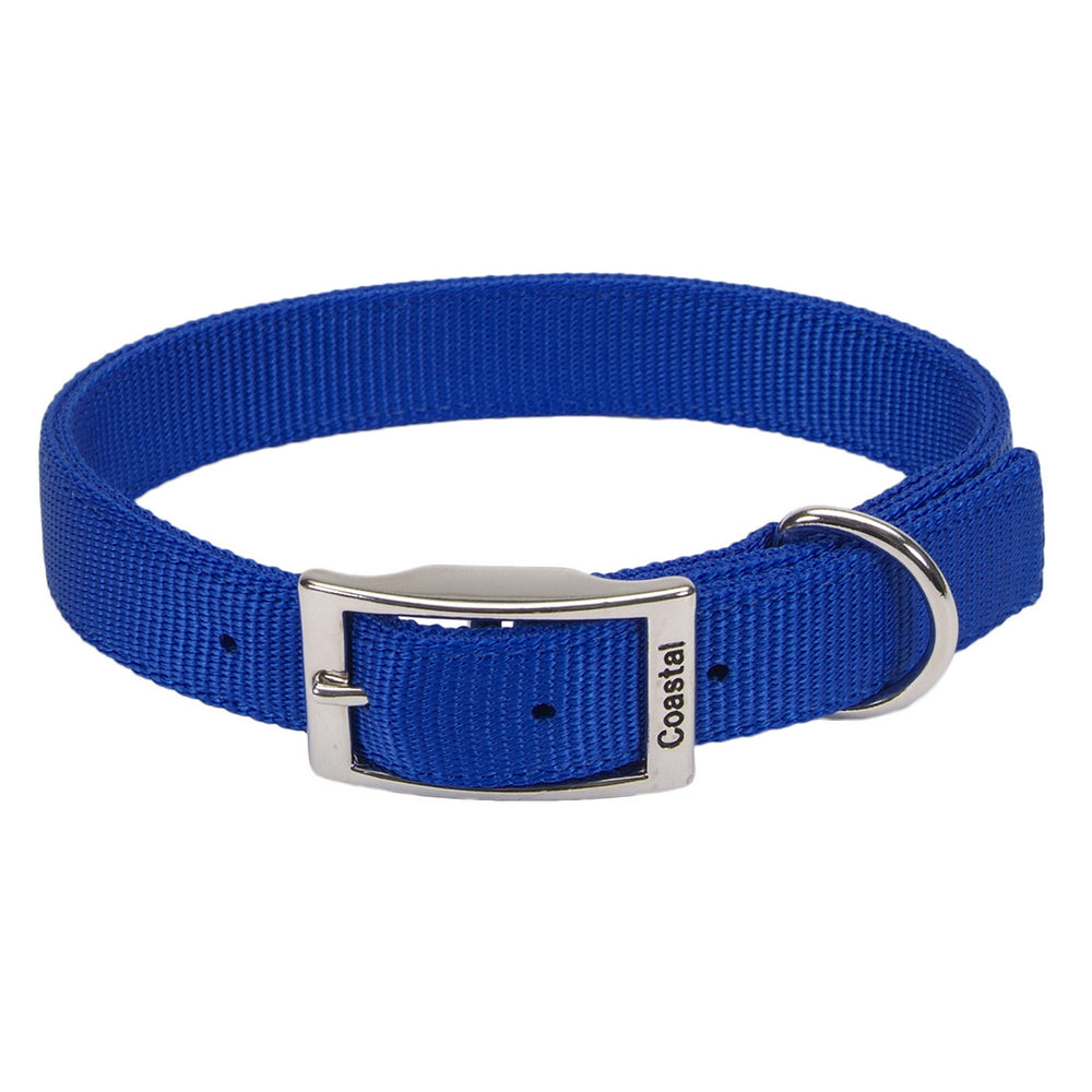 Coastal® Double-Ply Dog Collar Blue