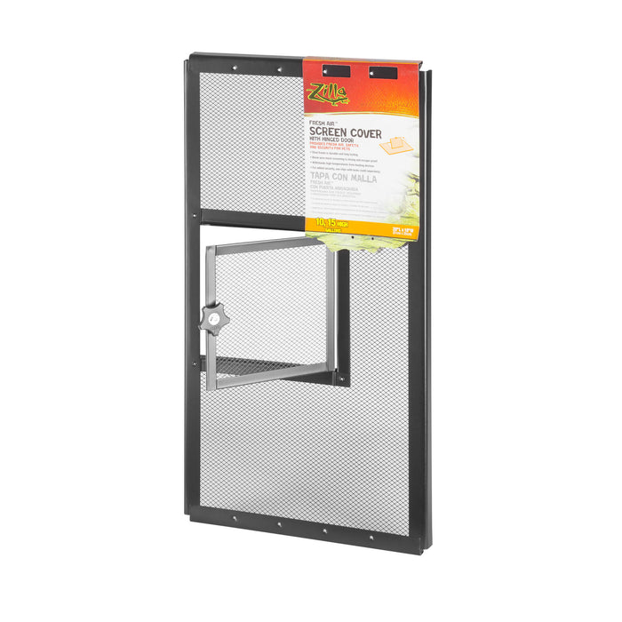 Screen Covers with Hinged Door