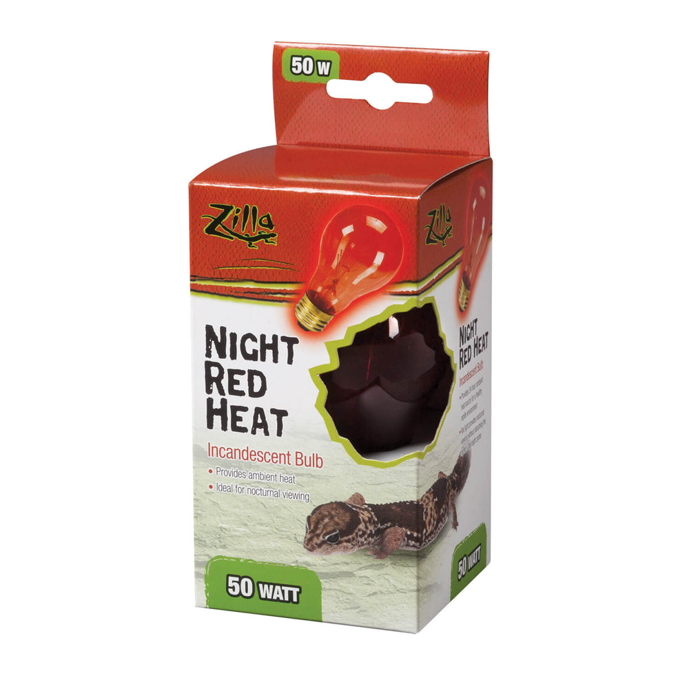 Night Red Incandescent Bulbs