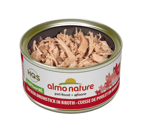 Almo Natural Chicken Drumstick in Broth Wet Cat Food
