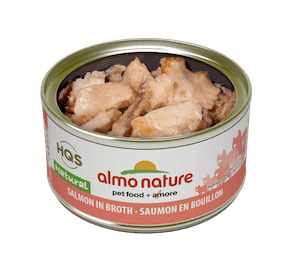 Almo Nature Salmon in Broth Wet Cat Food
