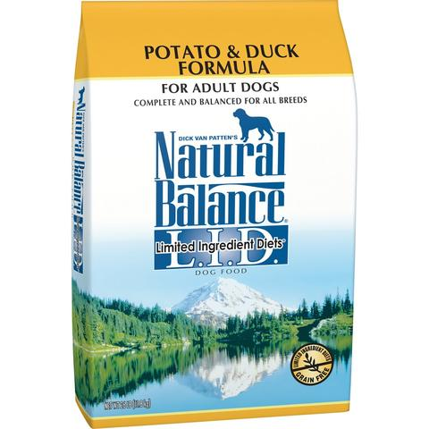 Natural Balance L.I.D. Limited Ingredient Diets Potato and Duck Dry Dog Food