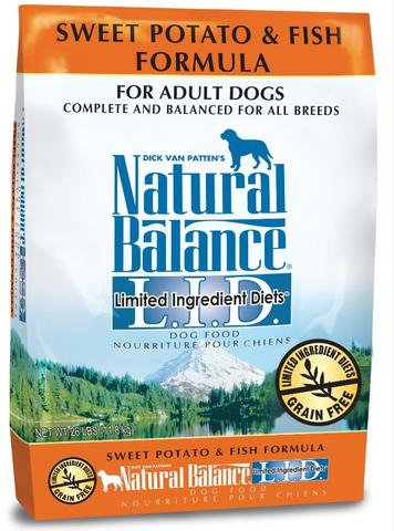 Natural Balance L.I.D. Limited Ingredient Diets Salmon & Sweet Potato Adult Dry Dog Food