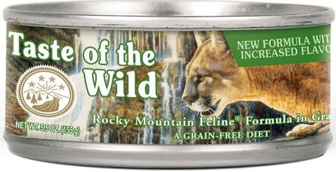 Rocky Mountain Canned Cat Food