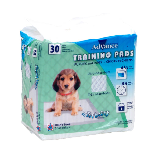 Advance® Dog Training Pads with Turbo Dry® Technology
