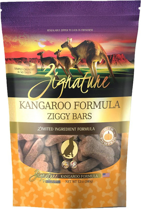 Ziggy Bars - Kangaroo Formula Treat-12 oz