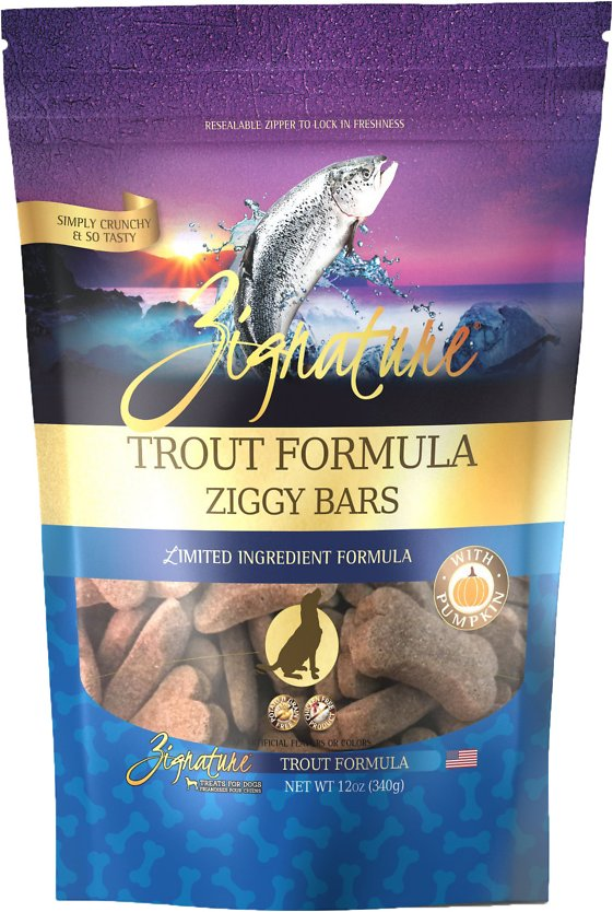 Ziggy Bars - Trout & Salmon Formula Treat-12 oz