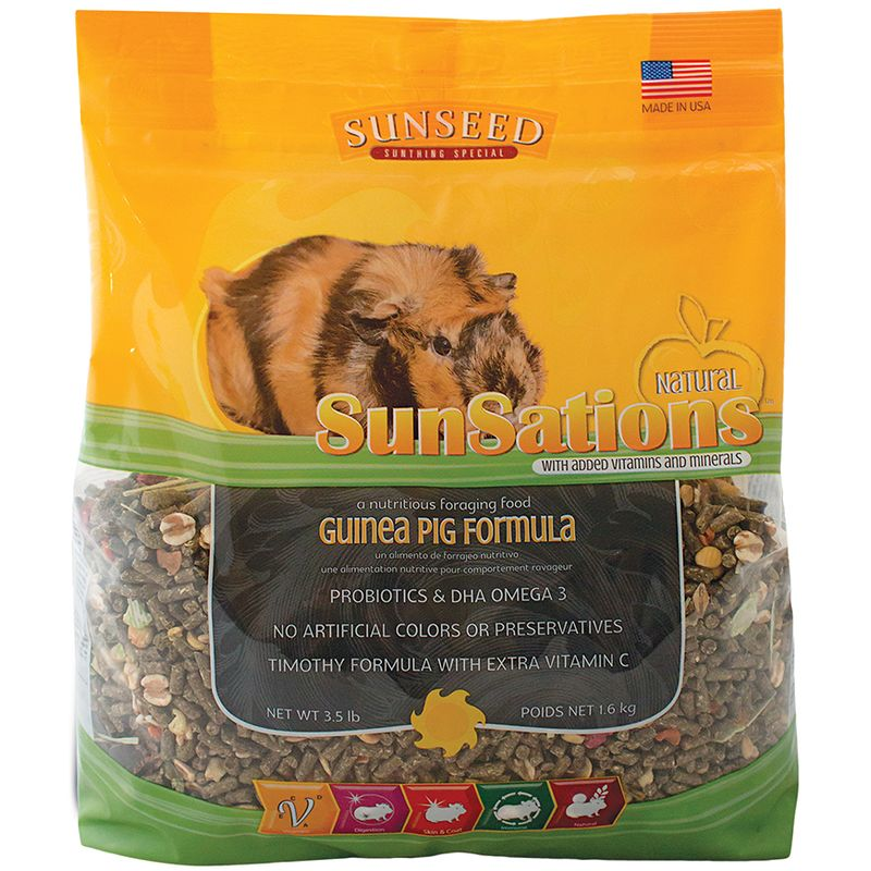 Sunseed SunSations Natural Guinea Pig Formula