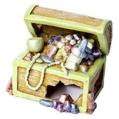 GloFish® Ornaments Treasure Chest Small