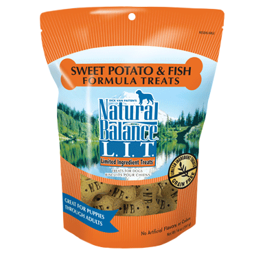 Natural Balance L.I.T. Limited Ingredient Treats Potato and Fish Dog Treats