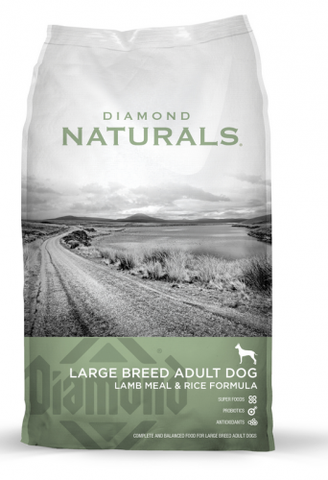 Diamond Naturals Large Breed Lamb Meal & Rice Formula Adult Dry Dog Food