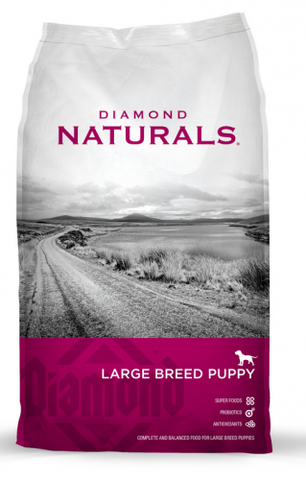 Diamond Naturals Large Breed Puppy Lamb, Rice & Vegetable Dry Food