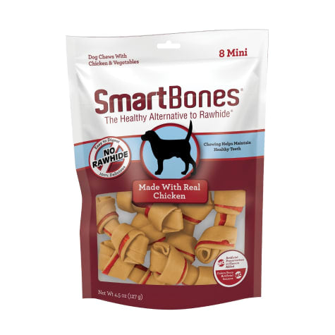 SmartBones Chicken No-Rawhide Dog Chews