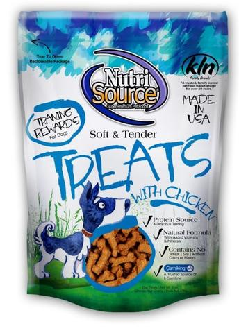 NutriSource Soft and Tender Chicken Dog Treats