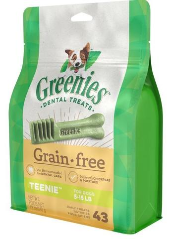 Greenies Teenie Grain Free Dental Dog Chews
