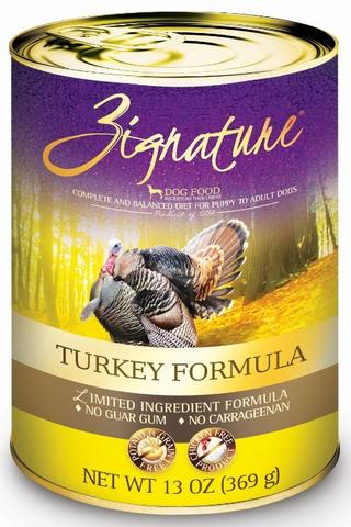 Zignature Turkey Limited Ingredient Grain Free Formula Canned Dog Food