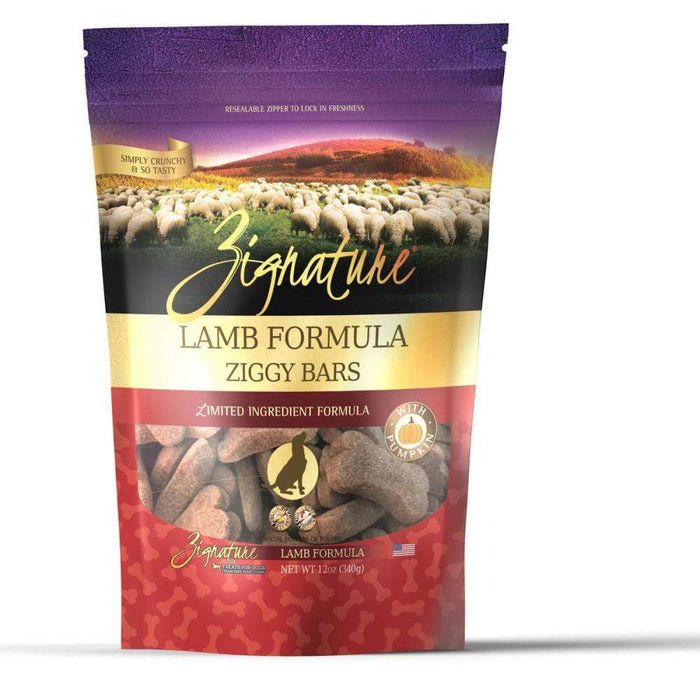 Ziggy Bars - Lamb Formula Treat-12 oz