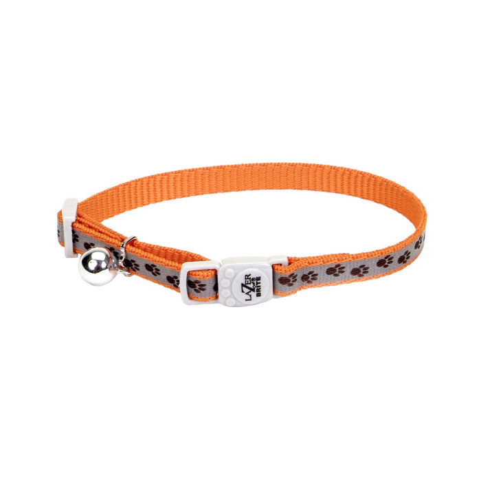 "Lazer Brite® Reflective Adjustable Breakaway Cat Collar 3/8"" x 12"""