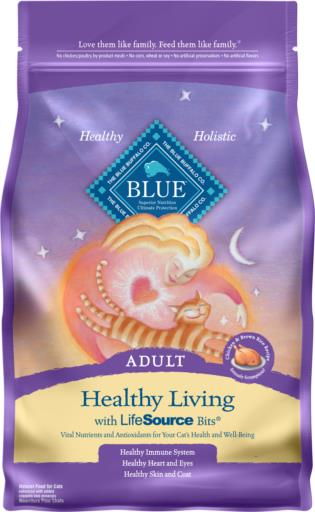 BLUE™ Healthy Living Chicken and Brown Rice Recipe Cat Food