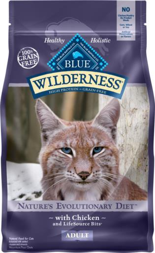 BLUE Wilderness™  Chicken Recipe Cat Food