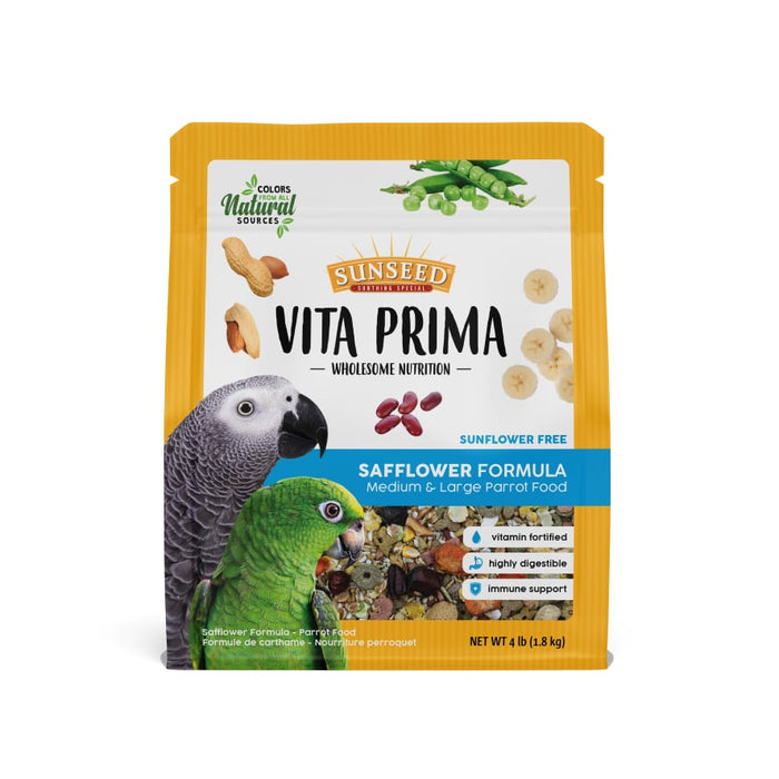 Sunseed Vita Prima  Large Hookbill Safflower Formula