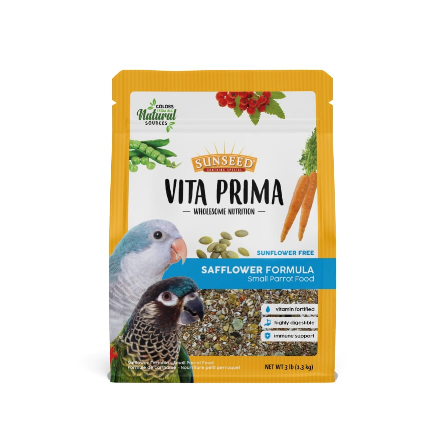 Sunseed Vita Prima Safflower Formula Small Parrot Food