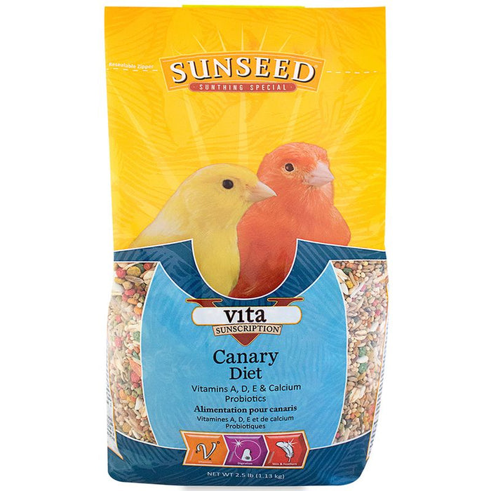Sunseed Vita Sunscription Canary Diet