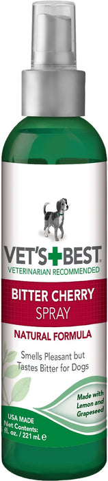 Vet's Best Bitter Cherry Spray for Dogs, 7.5 oz