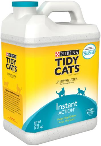 Tidy Cats® Instant Action® Clumping Cat Litter
