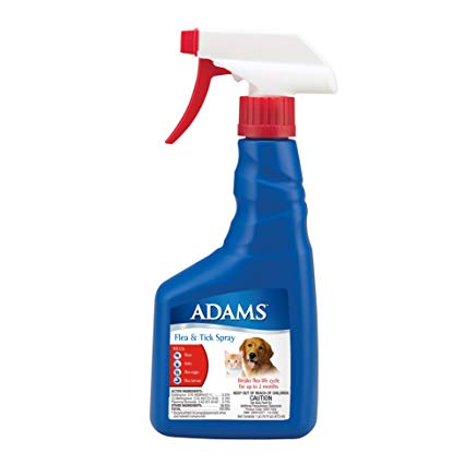 Adams Plus Flea & Tick Spray for Dogs and Cats