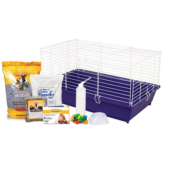 Home Sweet Home Sunseed Starter Kit-Rabbit