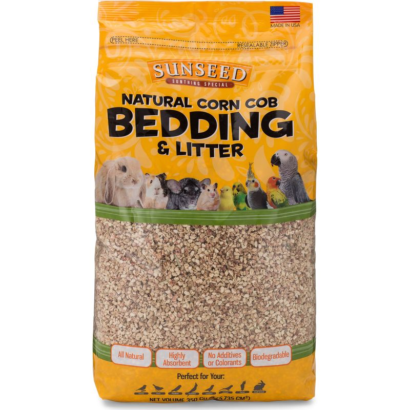 Sunseed Natural Corn Cob Bedding