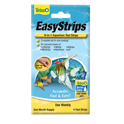 EasyStrips™ 6-in-1 Aquarium Test Strips