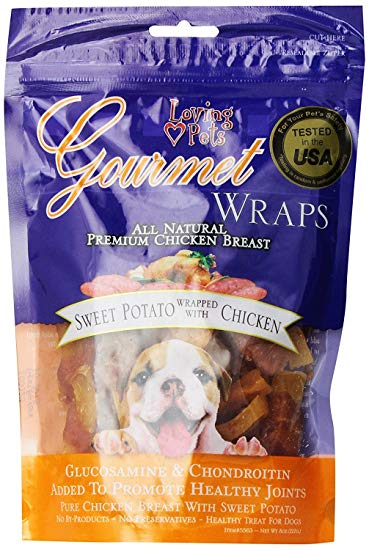 Gourmet Wraps – Sweet Potato Wrapped with Chicken-8 oz
