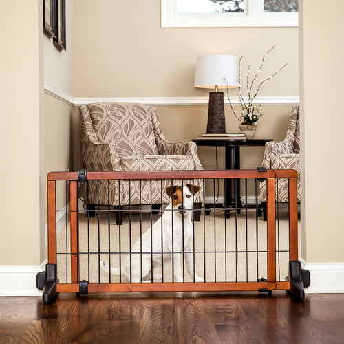 "Carlson Pet 20"" Freestanding Wooden Gate"