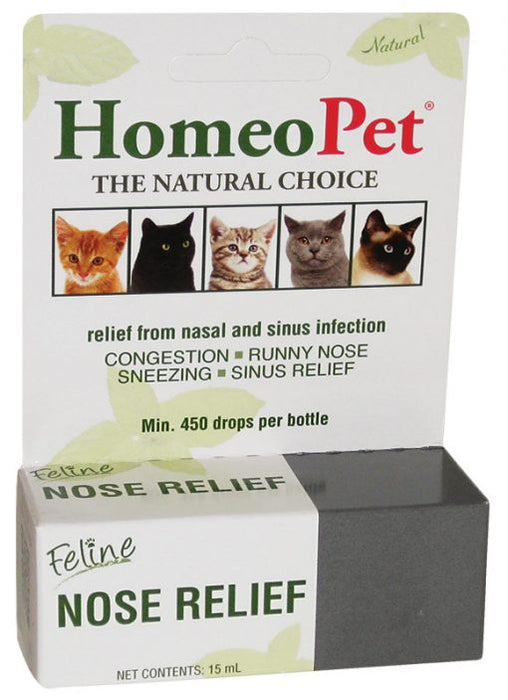 Homeopet Feline Nose Relief 15ml