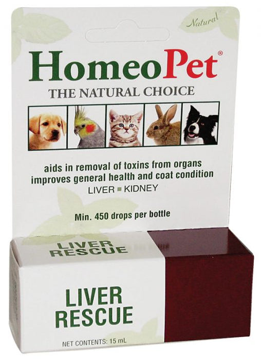 HomeoPet Liver Rescue 15ml