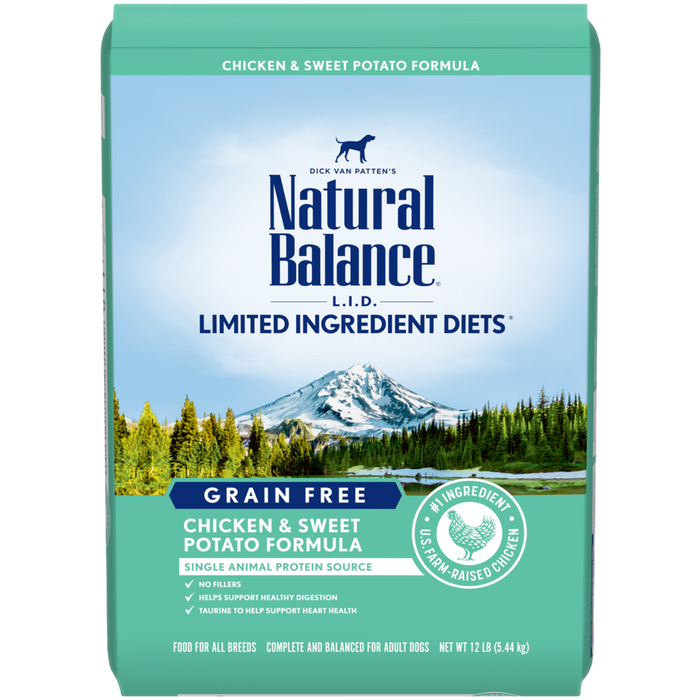 L.I.D. Limited Ingredient Diets® Grain Free Chicken & Sweet Potato Formula