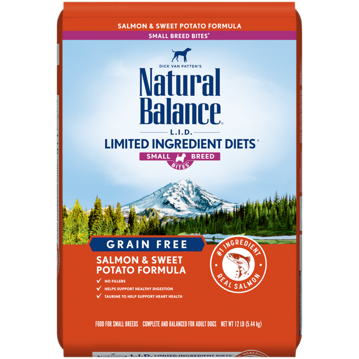 L.I.D. Limited Ingredient Diets® Grain Free Salmon & Sweet Potato Small Breed Bites® Dry Dog Formula