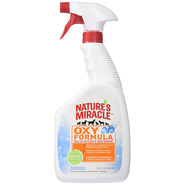 Nature's Miracle® Oxy Formula Stain and Odor Remover-Fresh Scent, 32 oz