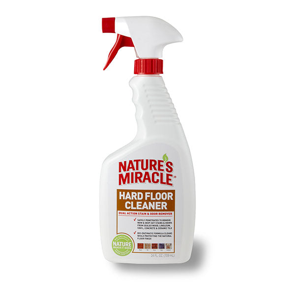 Nature's Miracle Hard Floor Stain and Odor Remover, 24 oz