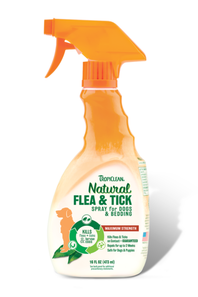 Tropiclean Natural Flea & Tick Spray for Pets