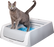 ScoopFree® Self-Cleaning Litter Box, Second Generation