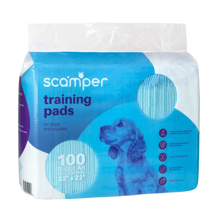 Scamper Training Pads 100 count