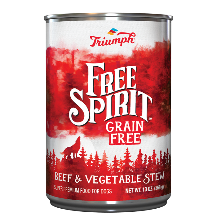 Sunshine Mills Triumph Free Spirit Grain Free Beef & Vegetable Stew