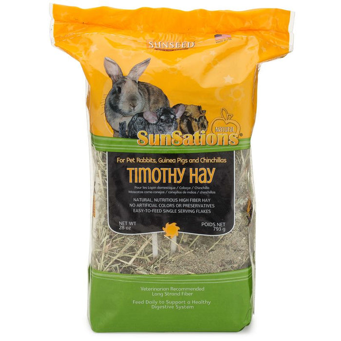 Sunseed SunSations Natural Timothy Hay